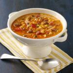 Creamy Corn and Chorizo Soup