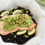 Pea Pesto Salmon